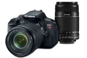 Canon T4i (Photo from canon.com)