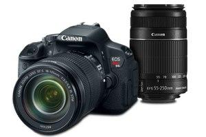Canon T4i (Photo from canon.com)