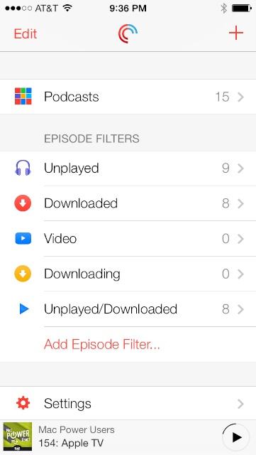 PodcastsScreenshots 1